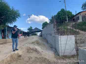 San Estanislao de Kotska-Arenal busca protegerse de deslizamientos - EL HERALDO