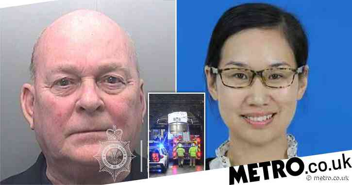 Bus driver jailed for killing 'promising academic' in railway bridge crash