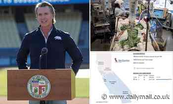 California Governor Gavin Newsom faces blacklash for keeping lockdown formulas SECRET
