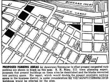 This Week in History: 1946: American planner proposes paving Vancouver's historic core for parking lots