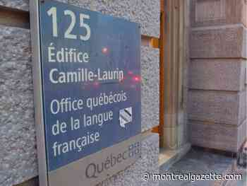 Language office certifies city of Montreal conformity to French language charter