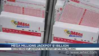Lottery players try their luck for $1B jackpot