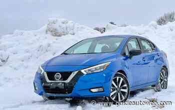Nissan Versa 2021: un bon produit, mais pour qui?