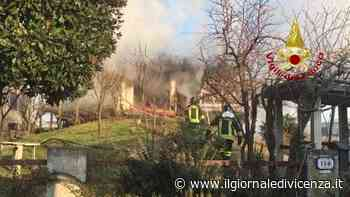 Video: Incendio a San Giorgio in Bosco | G. di Vicenza - Il Giornale di Vicenza