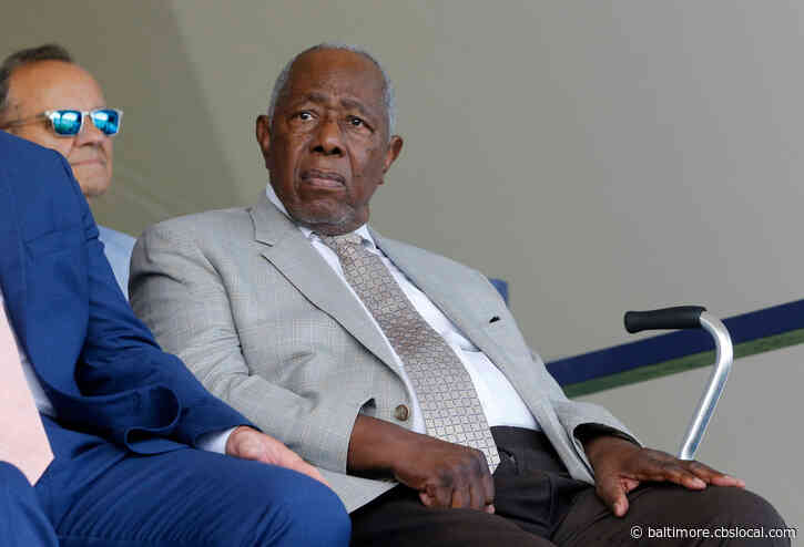 Tributes From Baltimore Athletes Pour In For Baseball Legend Hank Aaron