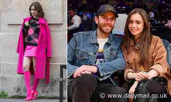 EDEN CONFIDENTIAL: Emily In Paris star Lily Collins sets a date for her wedding