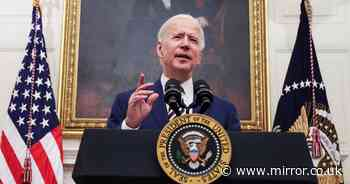 Biden warns 'we need to act' as he fast-tracks Covid stimulus cheques and aid