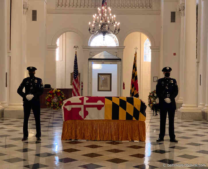 Maryland Officials Pay Tribute To Longtime Senate President Mike Miller