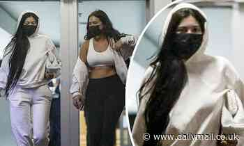 Kylie Jenner covers up from head-to-toe as she hangs out with BFF Stassie Karanikolaou