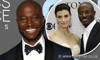 Taye Diggs heaps praise on ex-wife Idina Menzel when discussing his breakout role in Rent