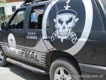Menor flagrado empinando moto em Santana do Ipanema é levado para delegacia de Delmiro - Correio Notícia