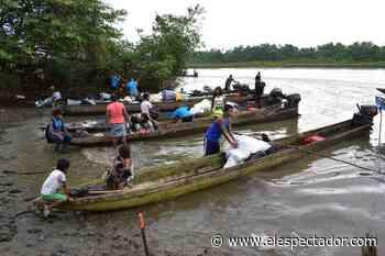 Inició retorno de 905 indígenas desplazados en Bahía Solano - El Espectador