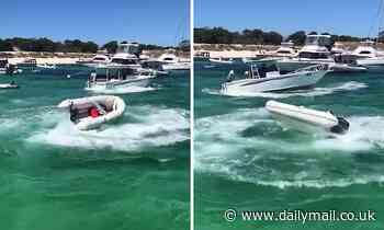 Driverless boat spins out of control on Rottnest Island in WA