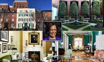 Kamala Harris moves into Washington DC mansion directly across the street from the White House