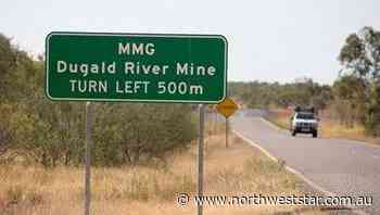 Dugald River a good result for MMG in 2020 fourth quarter report - The North West Star