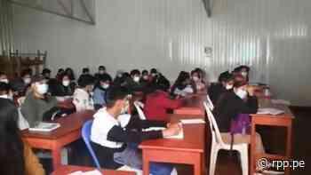 Andahuaylas: Intervienen academia prepolicial con más de 100 estudiantes en clases presenciales - RPP Noticias