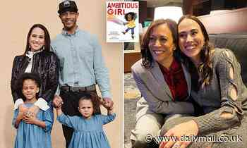 Kamala Harris' niece Meena says her husband gave up his high powered job to be a stay-at-home dad