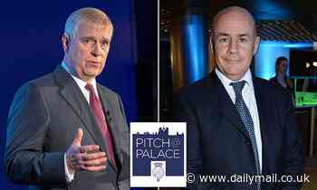 Prince Andrew's Pitch@Palace enterprise 'is in turmoil'