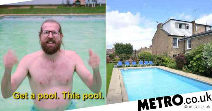 Man trying to sell his home makes brilliant video bigging up the pool after buyers pull out