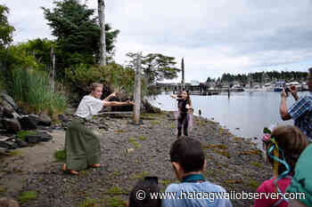 VIDEO: Masset Dance Troupe presents beachfront 'promenade performance' – Haida Gwaii Observer - Haida Gwaii Observer