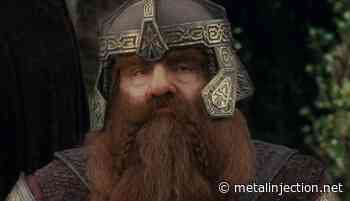 Previous « Behold, a Gimli-Themed Lord of the Rings Metal Band! - Metal Injection