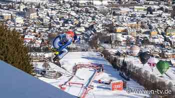 Ski-Piste in unfahrbarem Zustand: Die Streif muss noch einen Tag warten
