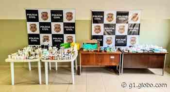 Polícia apreende remédios sem receita e produtos vencidos em Pederneiras - G1