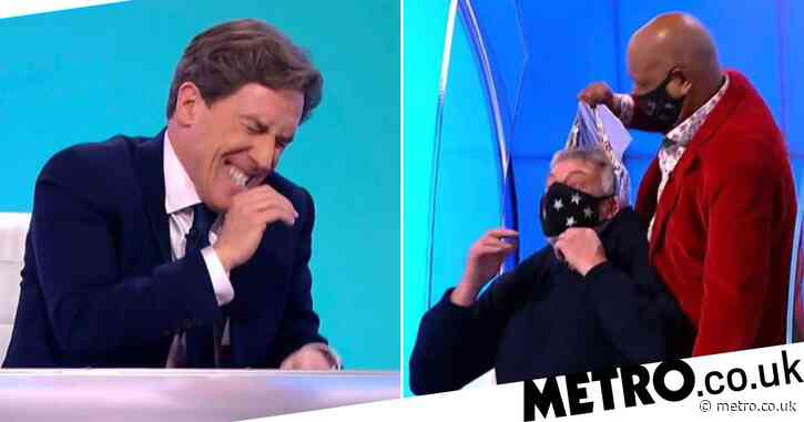 Rob Brydon and Lee Mack cry with laughter as Would I Lie To You? magic trick goes wrong