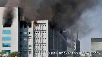 Pabrik Pembuatan Vaksin Covid-19 di Pune India Terbakar, 5 Orang Meninggal Dunia - Tribun Newsmaker