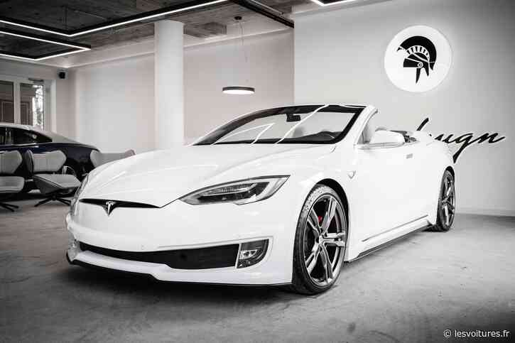 """Tesla Model S : Ares Design """"lui enlève le haut"""" - Les Voitures"""