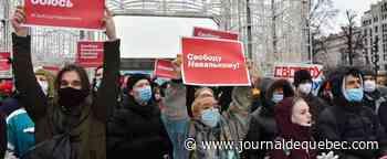 Plusieurs milliers de manifestants à Moscou en soutien à l'opposant Navalny