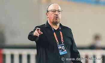 Former Newcastle manager Rafa Benitez leaves Chinese Super League side Dalian Pro