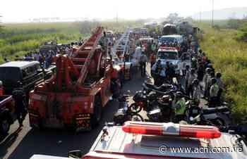 Up Next A dos años de la tragedia en la autopista Güigüe-Valencia - ACN ( Agencia Carabobeña de Noticias)