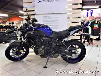 Yamaha MT-07 (47.5CV) 2020 à 6400€ sur ANGOULEME - Occasion - Motoplanete