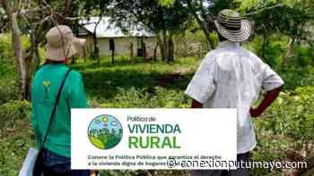 MinVivienda anuncia 200 viviendas rurales para Orito, Valle del Guamuez y San Miguel, Putumayo - Conexión Putumayo