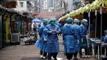 200 Neu-Infizierte registriert: Kaum Fälle in China, aber harte Reaktion