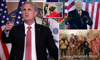 House Minority Leader Kevin McCarthy U-turns on blaming Trump for MAGA riots