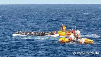"Viele Minderjährige: ""Ocean Viking"" hat 374 Flüchtlinge an Bord"