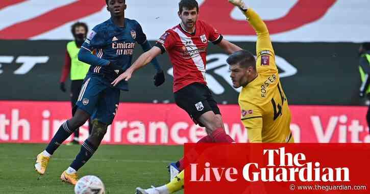 Southampton 1-0 Arsenal: FA Cup fourth round – live!