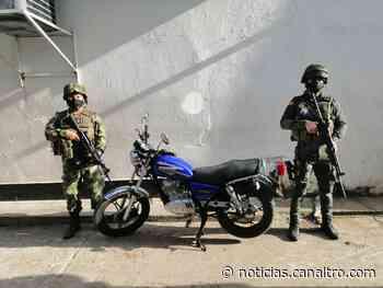 Autoridades recuperan moto hurtada en Hacarí, Norte de Santander - Canal TRO