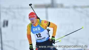 Biathlon heute im Liveticker: Deutsche Staffel in der Spitzengruppe, Rees übernimmt