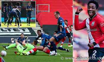 Southampton 1-0 Arsenal: Saints hold firm to knock out FA Cup holders after Gabriel own goal