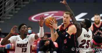 Toronto Raptors regroup after blowing lead, beat Miami Heat 101-81