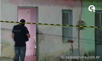 Mulher mata marido na porta da própria casa em Itaitinga-CE - Sobral Online