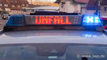 Unfall in Salach: Abstand nicht eingehalten - Unfall mit drei beteiligten Fahrzeugen - SWP
