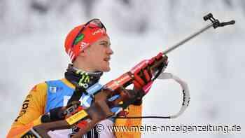 Biathlon jetzt im Liveticker: Deutsche Staffel verpasst das Podest in packendem Zielsprint