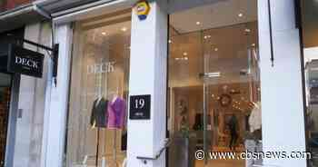 First female-run shop in London's Savile Row opens up