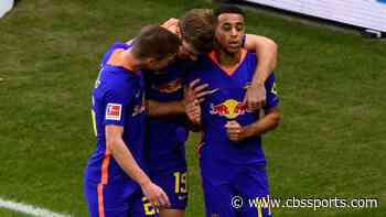 Tyler Adams' first Bundesliga goal: USMNT talent scores a beauty for RB Leipzig