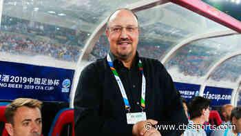 Rafa Benitez is back on the coaching market after leaving Chinese Super League side Dalian Professional