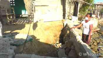 Erosión amenaza más viviendas en Bahía Rada, Moñitos - LA RAZÓN.CO